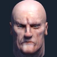 quad head 3d model