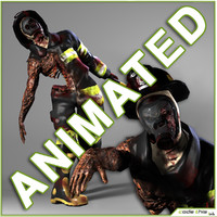 3d animations zombie