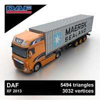 2013 daf xf 3ds