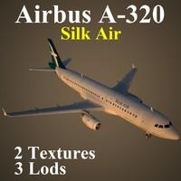 3d model airbus slk