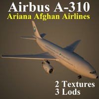 3ds max airbus airlines afg