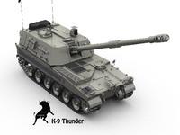 k-9 thunder 3d max