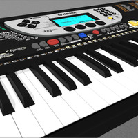 3d model of keyboard yamaha