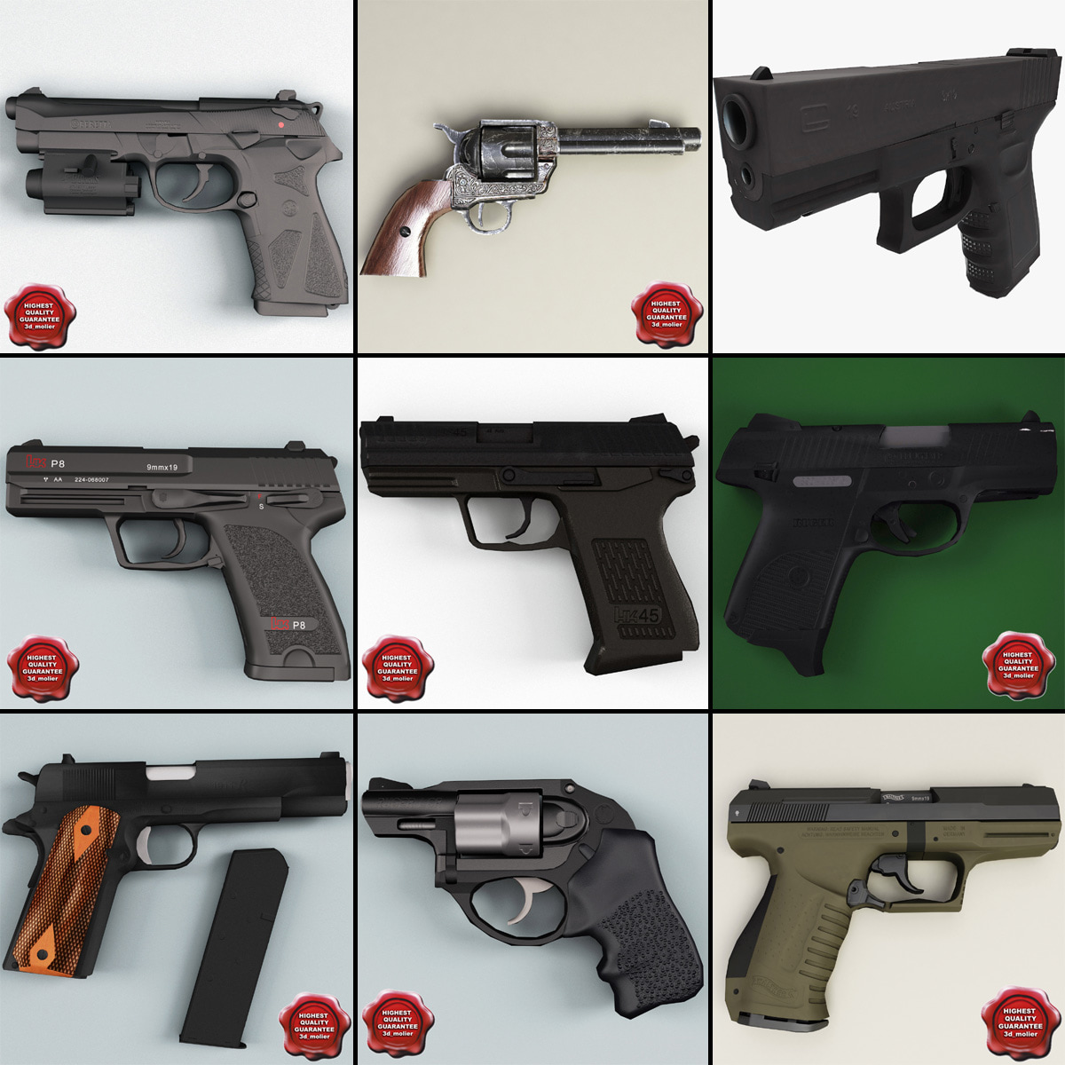 Low Poly Pistols Collection v3.jpg