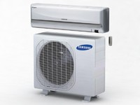 3d air condition samsung model