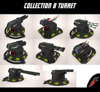 Collection 8 Turrets