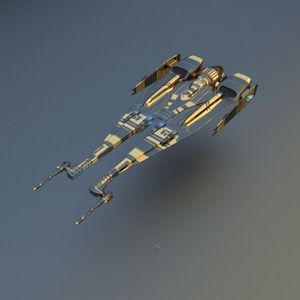 star starship 3d model - Starship... by sender pinarci