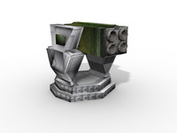 Rocket Launcher - Low Poly