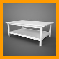 3d hemnes table model