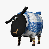 maya sheep polys