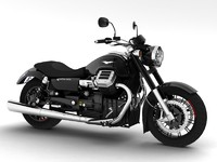 moto guzzi 1400 california 3d model