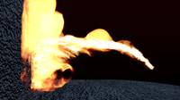 flamethrower blender 2 3d blend