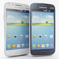 Samsung Galaxy Core I8260 Bule And White