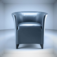 3d auriana armchair model