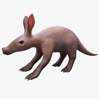 3dsmax baby aardvark