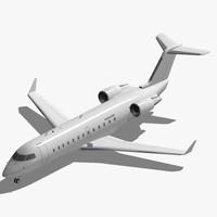 3d model bombardier crj-200 crj