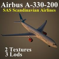 airbus sas 3d model