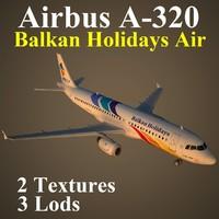 3d airbus bgh model