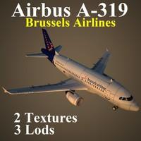 3d model airbus dat