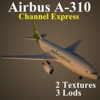 3d model airbus exs