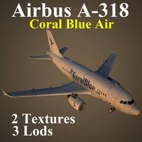 3d model airbus kbr