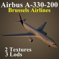 3d airbus dat model