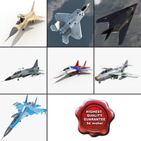 Jet Fighters Rigged Collection 6