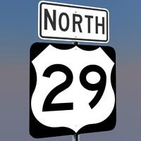 u s highway 29 3d c4d