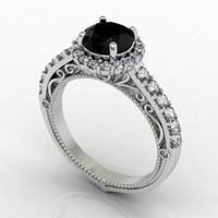 Share Prong Engagment Ring