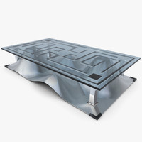 3d model design coffee table