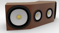 maya abstract speaker cabinet