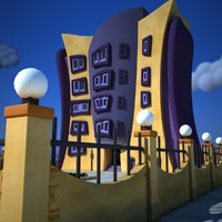 Cartoon Building