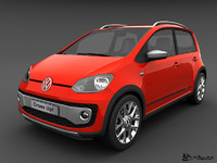 3d model volkswagen cross 2014