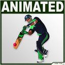 cricket player 3D models
