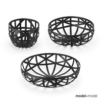3d douglas baskets eno studio model