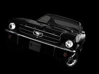 mustang 1965 3d model
