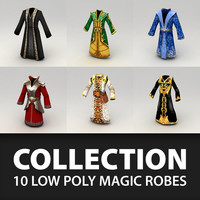 Fantasy robes collection