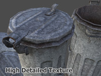 3ds max container trash new rusted