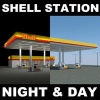 s max shell gas station