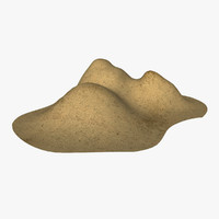 3ds max sand pile
