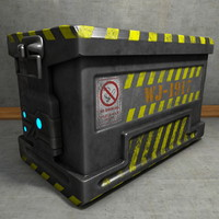 Metal Crate Ammo Box