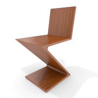 Cassina chair ZigZag