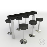 table charging 3d model