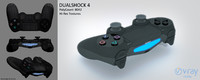 sony dualshock 4 3d model