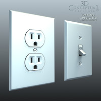Electrical_Wall Switch and Wall Plug Outlet1