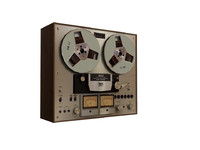OLD REEL- TO-REEL RECORDER