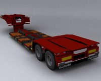 trailer goldhofer 3d max