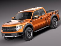 Ford F-150 SVT Raptor single cab 2013