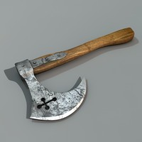 s hatchet 3d model