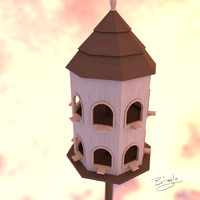 3ds max house dove